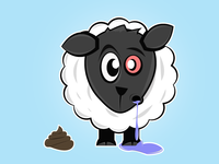 The Sheep Who Took A Poo