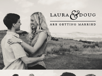 Save the Dates - Laura & Doug