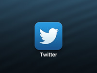 Simplified Twitter iOS Icon
