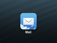 Simple Mail iOS Icon