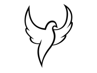 Dove Logo Icon