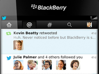 Twitter for BlackBerry 4.0