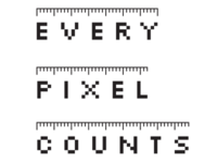 Every Pixel Counts