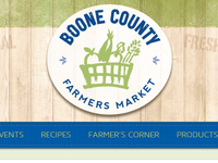 Boone Website Header Logo and Menu