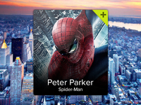 Spider-Man Profile Widget