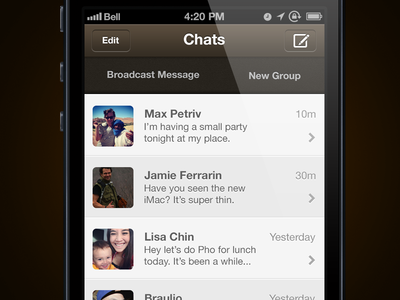 WhatsApp Messenger  Redesign