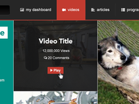 Featured Video Tiles