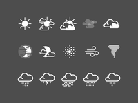 HTC Sense Weather Icons