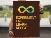 Experiment. Fail. Learn. Repeat.