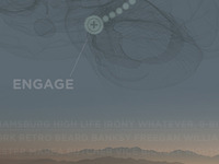 Part of Engage poster.