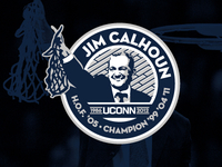 Jim Calhoun Commemorative Mark