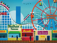 New Coney Island Poster