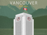 Vancouver City Hall Vector