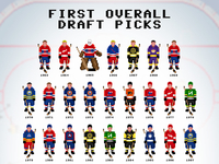 8-Bit NHL Draft Picks