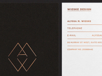 Wieske Design Stationary