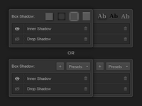 Shadow Presets (Feedback Needed)