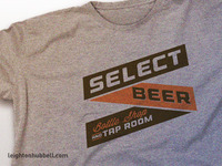 Select Beer logo t-shirt