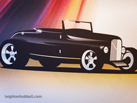 Lowboy roadster illustration