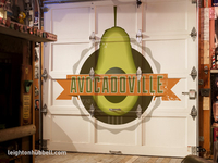 Avocadoville Door