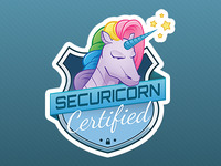 Securicorn Sticker