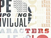 Wood Type Scale 3