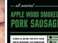 Apple Wood Smoked Label