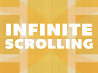 Infinite Scroll blog image