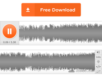 Soundcloud Mockup — Free Download!