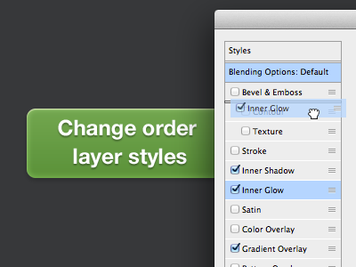 Change-order-layer-styles