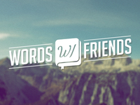 Words with Friends Logo Concept