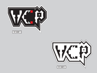 VCP Sticker Pack No.1 - 'Chomp' lettering