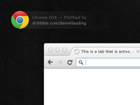 Chrome GUI PSD