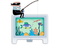 """Phishing"" Illustration for The San Diego Union-Tribune"