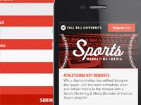 Full Sail Mobile Sites