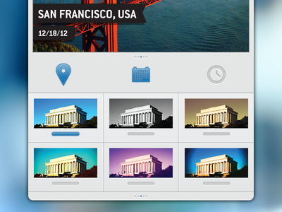 Travelgram Filters & Toggles