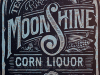Aldo's Moonshine Corn Liquor - Art Print