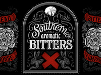 Southern Aromatic Bitters - Label Design