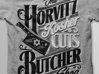 "the Horvits ""Kosher Cuts"" Butcher Shop"