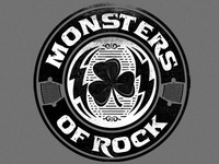 Monsters of Rock: Shamrock Logo