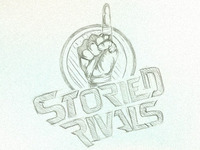Storied Rivals Logo sketch