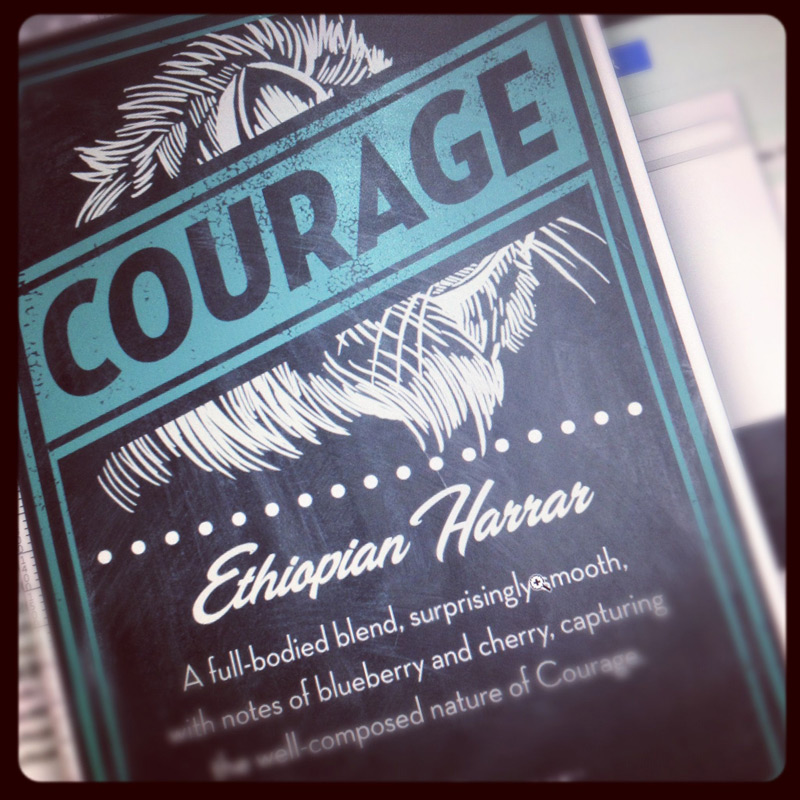 Courage-coffee-label