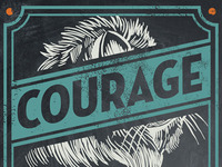 Courage - Coffee Label