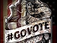 #GOVOTE - Don't Tread on me