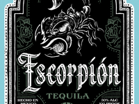 Escorpión Tequila - Label