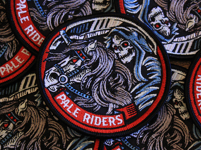 Pale Riders - Embroidered Patch