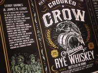 Crooked Crow Rye Whiskey