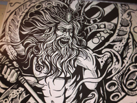 Poseidon Ink Dribbble