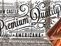 Straw Castle - Premium Quality