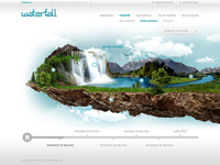 Waterfall Homepage
