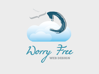 Worry Free Web Design Logo